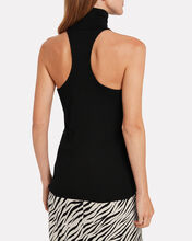 Paltrow Sleeveless Turtleneck Sweater, BLACK, hi-res