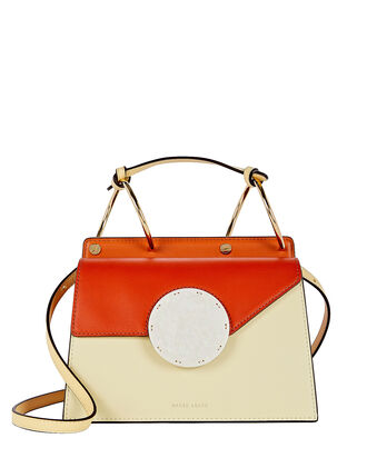 Phoebe Bis Crossbody Bag, ORANGE/WHITE, hi-res