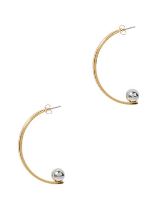 Vela Earrings, GOLD, hi-res