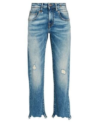 Boy Straight-Leg Crop Jeans, CARLTON WITH RIPS, hi-res