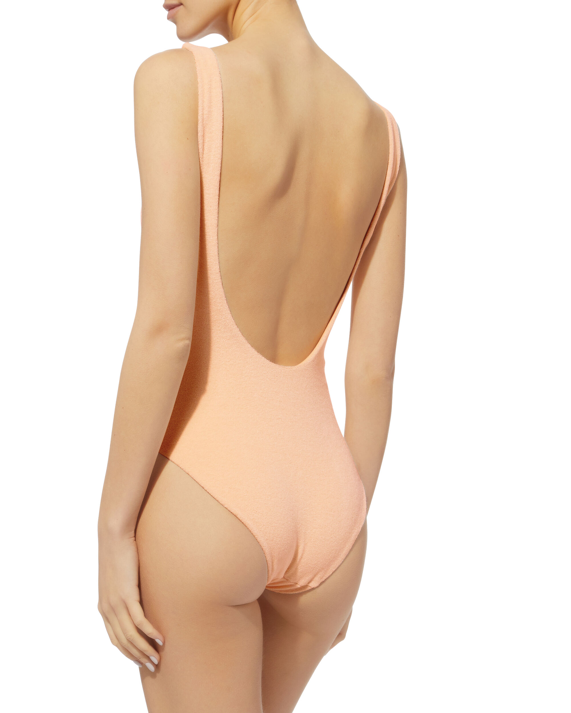 Kelly Terry One Piece Swimsuit, PINK, hi-res
