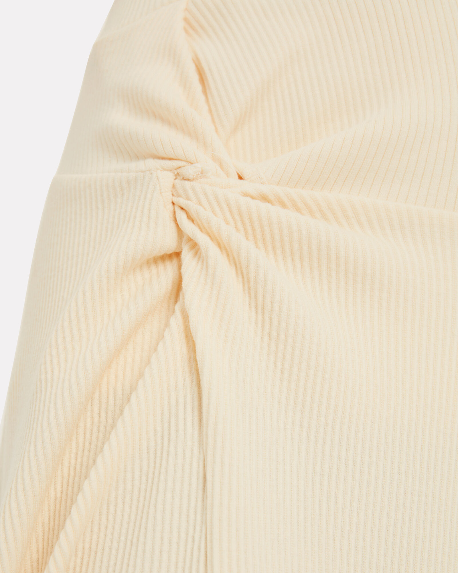 Honey Ain't Home Twisted Midi Skirt, YELLOW, hi-res