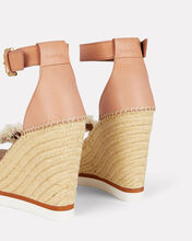 Glyn Espadrille Wedge Sandals, BEIGE/BROWN, hi-res