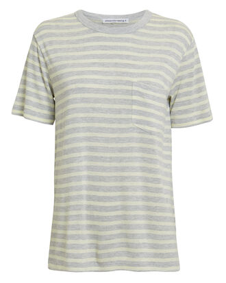 Striped T-Shirt, GREY-LT, hi-res
