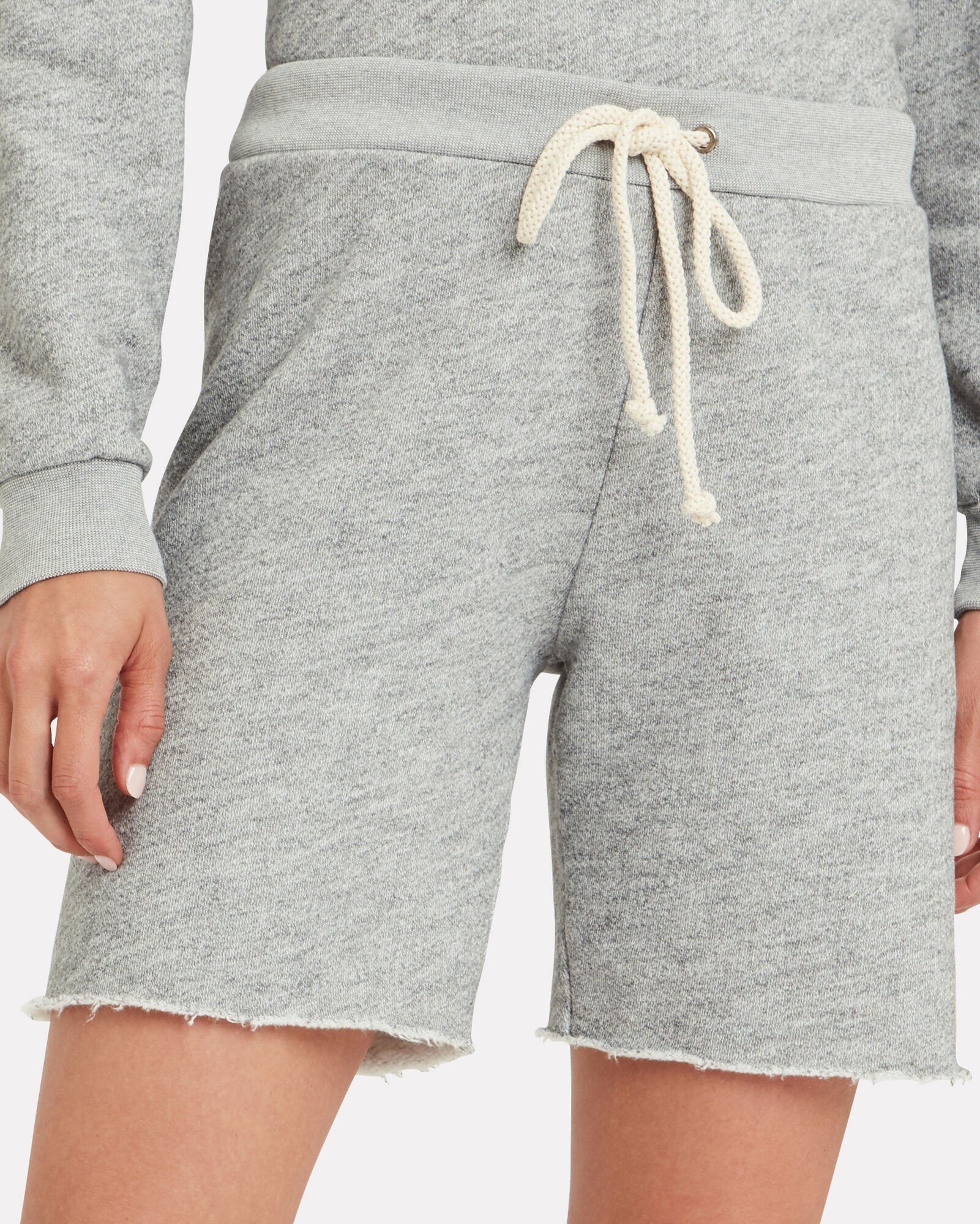 70s Terry Cotton Sweatshorts, GREY-LT, hi-res