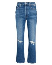 The Tomcat Distressed Cropped Jeans, PLAYING WITH SCISSORS, hi-res