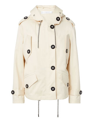 Parker Hooded Jacket, BEIGE, hi-res
