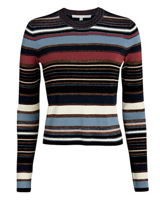 Palmas Lurex Striped Sweater, MULTI, hi-res