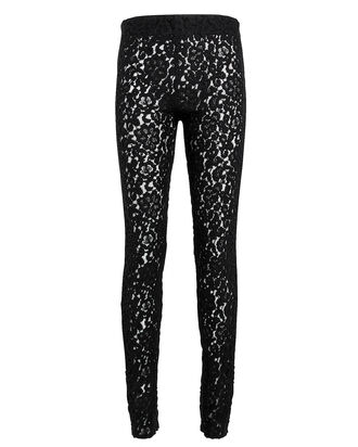 Lace Leggings, BLACK, hi-res