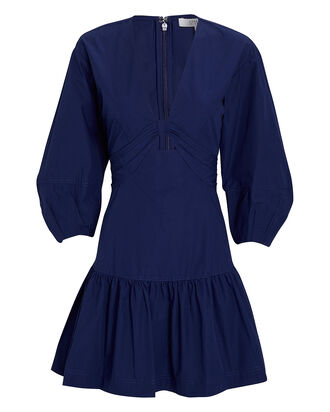 Talia Twisted Mini Dress, NAVY, hi-res