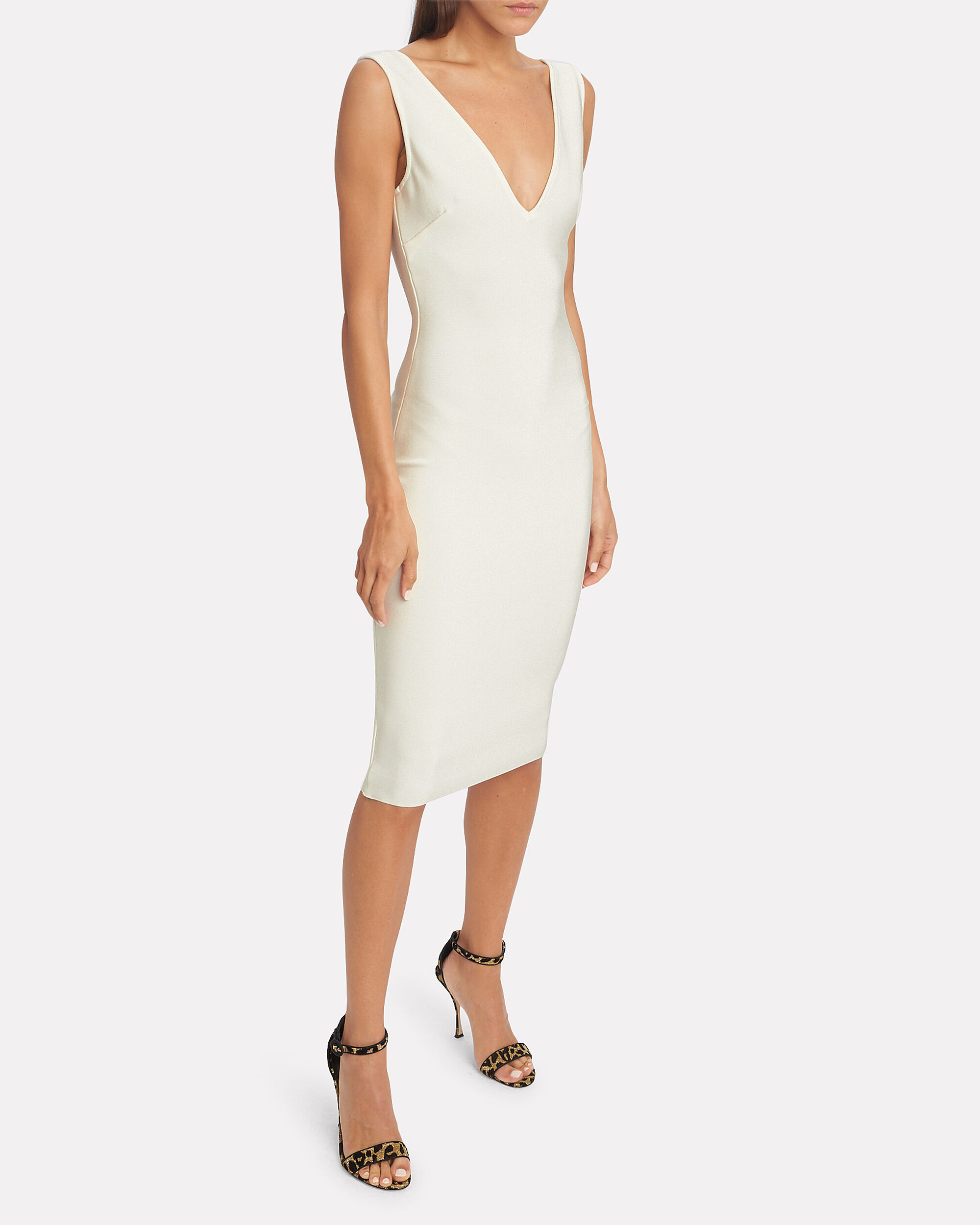 Solange Dress, IVORY, hi-res