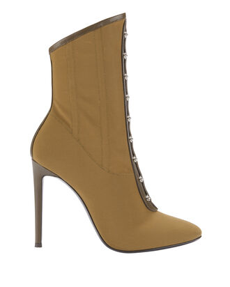 Bimba Corset Booties, GREEN, hi-res
