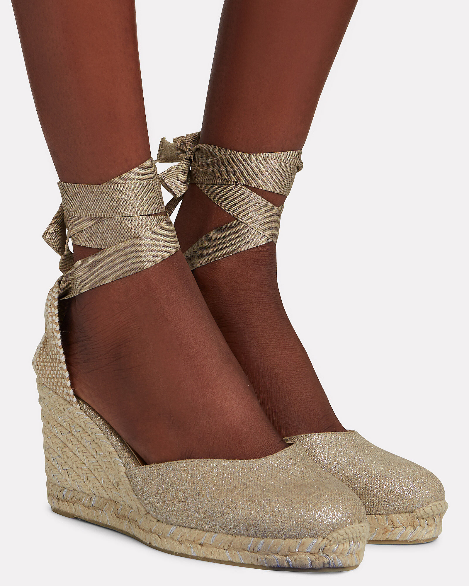Carina 80 Espadrille Wedges, SILVER, hi-res