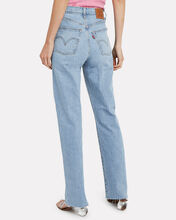 Ribcage High-Rise Jeans, DENIM-LT, hi-res