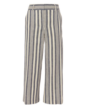 Oscar Gaucho Pants, WHITE, hi-res