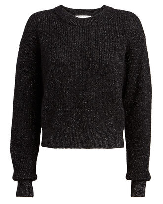 Melinda Crewneck Sweater, BLACK, hi-res