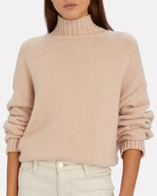 Wool-Blend Turtleneck Sweater, BEIGE, hi-res