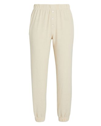 Knit Henley Joggers, IVORY, hi-res