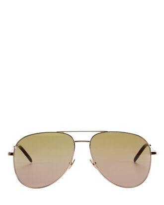 Classic 11 Aviator Sunglasses, GOLD, hi-res