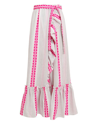 Convertible Skirt Dress, WHITE/PINK, hi-res