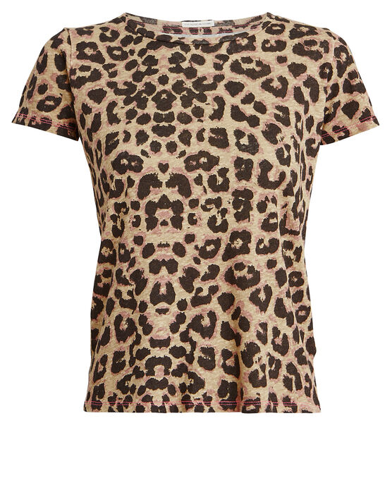Mother T-shirts MOTHER ITTY BITTY SINFUL LEOPARD-PRINT T-SHIRT