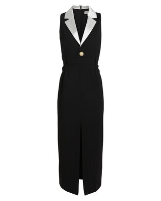 Andriella Tailored Blazer Dress, BLACK, hi-res