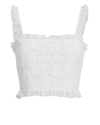 Romy Crop Top, WHITE, hi-res