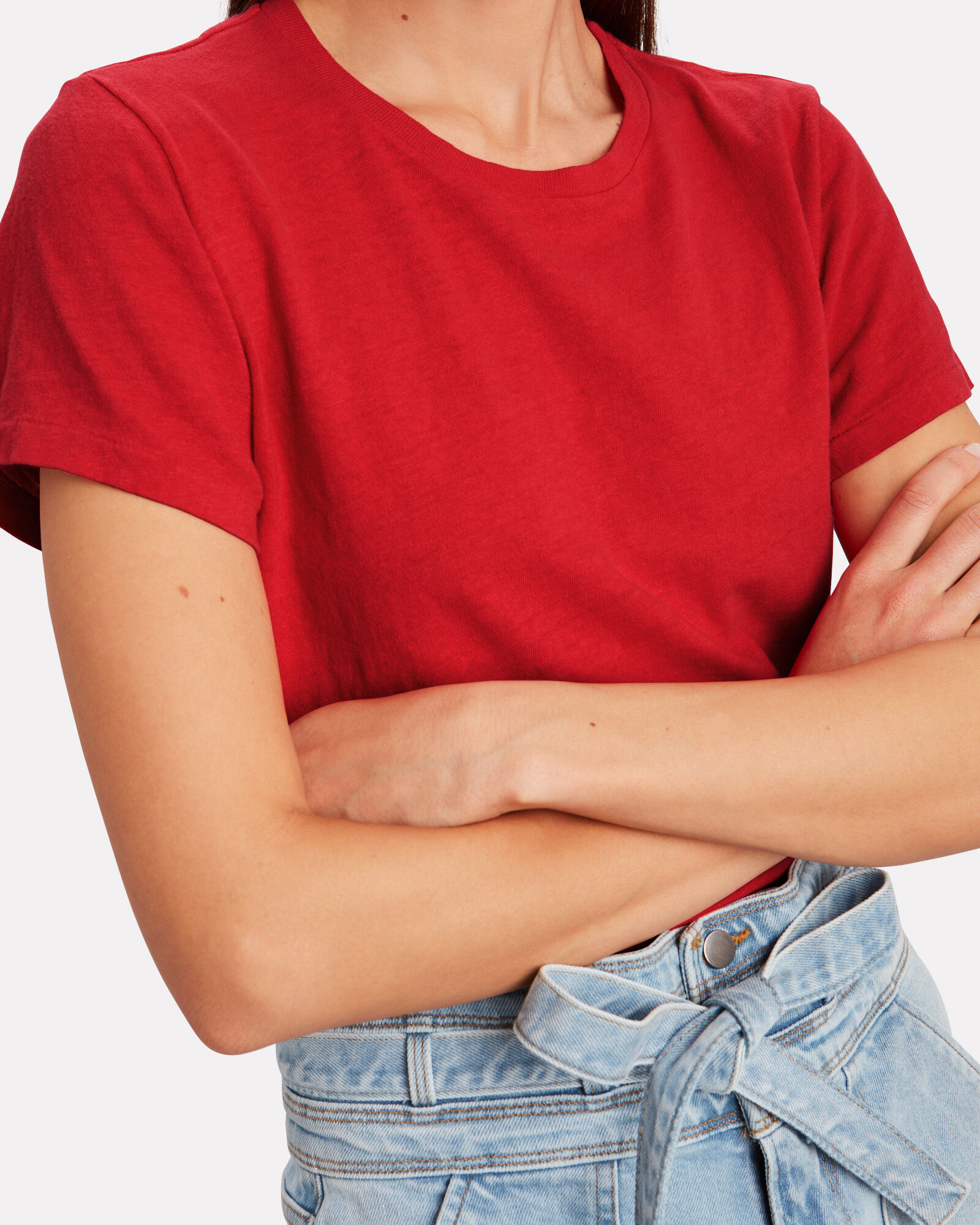 The Classic T-Shirt, RED, hi-res