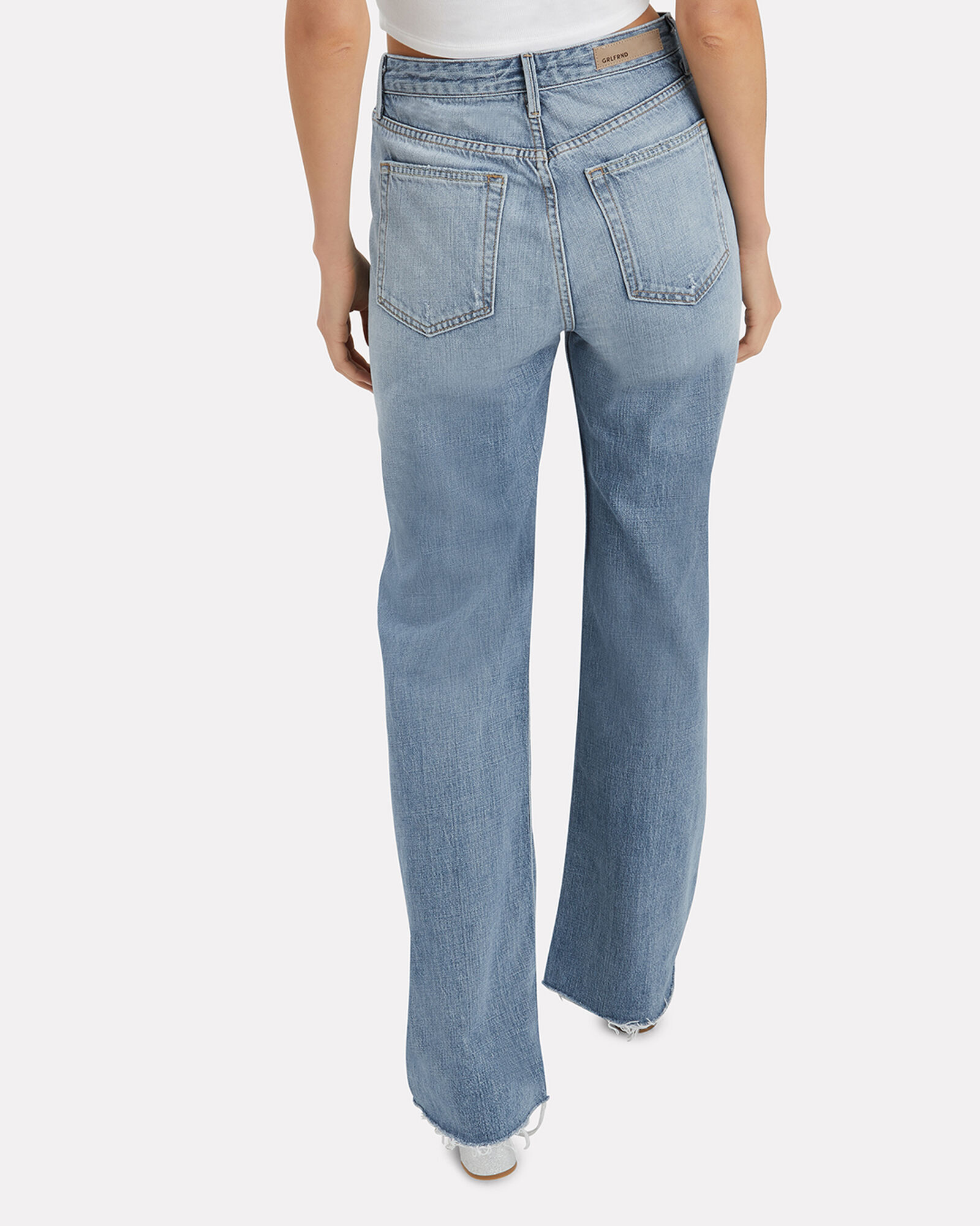 Carla Flare Jeans, MEDIUM WASH DENIM, hi-res