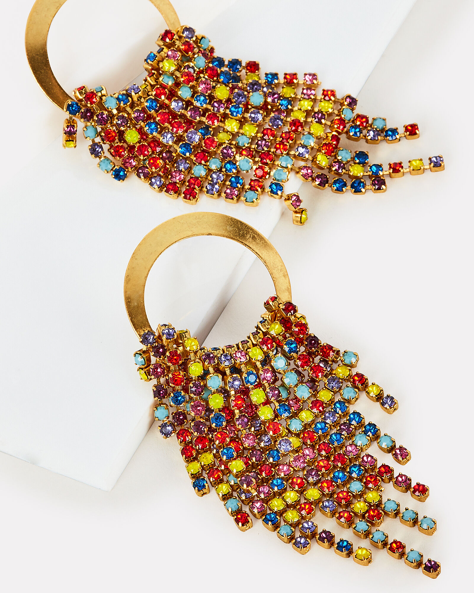 Rowan Rainbow Earrings, MULTI, hi-res