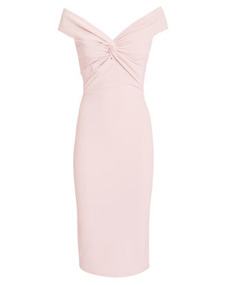 Harlow Off-The Shoulder Dress, PINK, hi-res