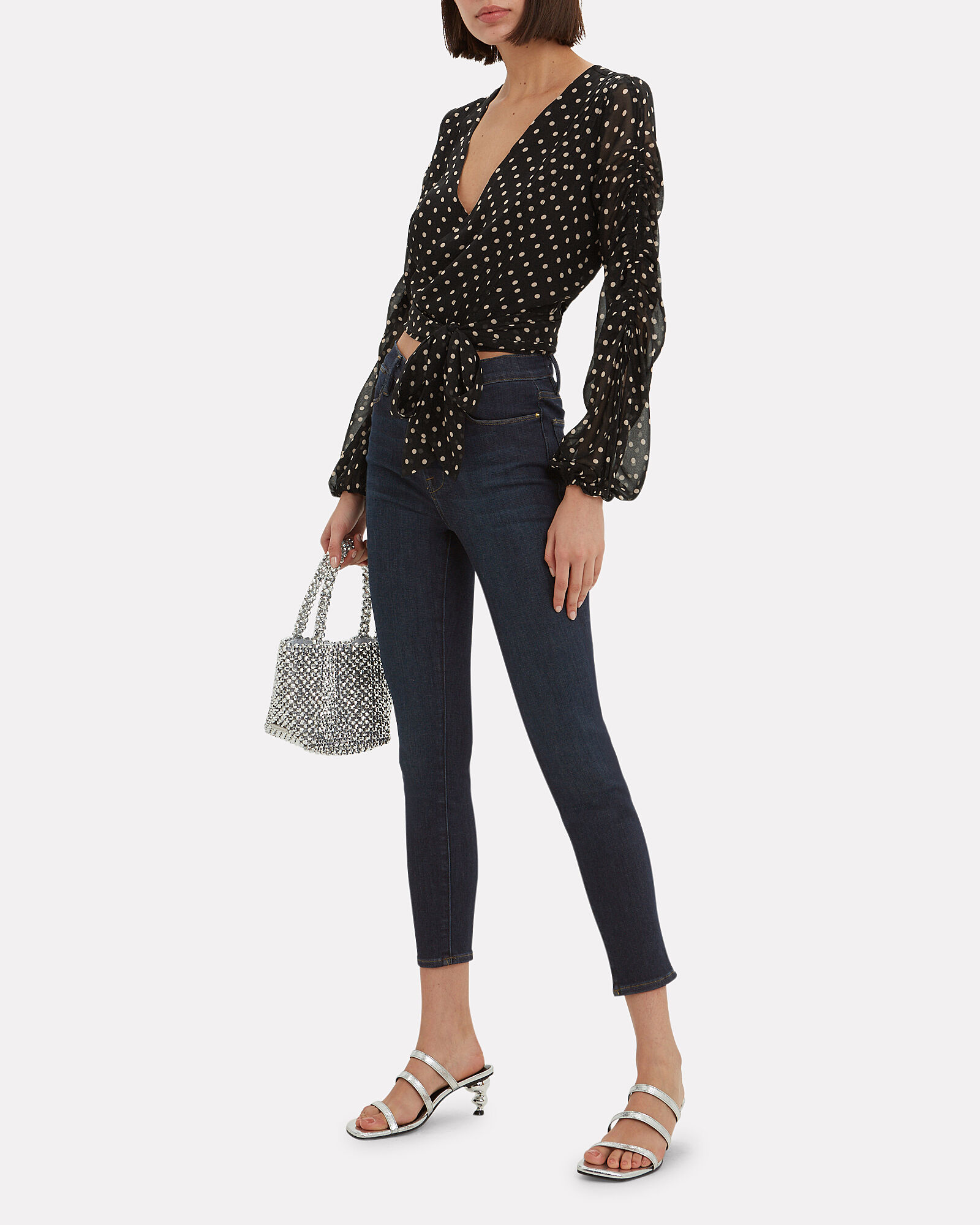 Le High Skinny Cropped Jeans, SAMIRA, hi-res