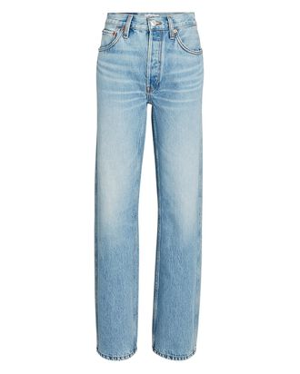 90s High-Rise Loose Straight-Leg Jeans, 60S FADE, hi-res