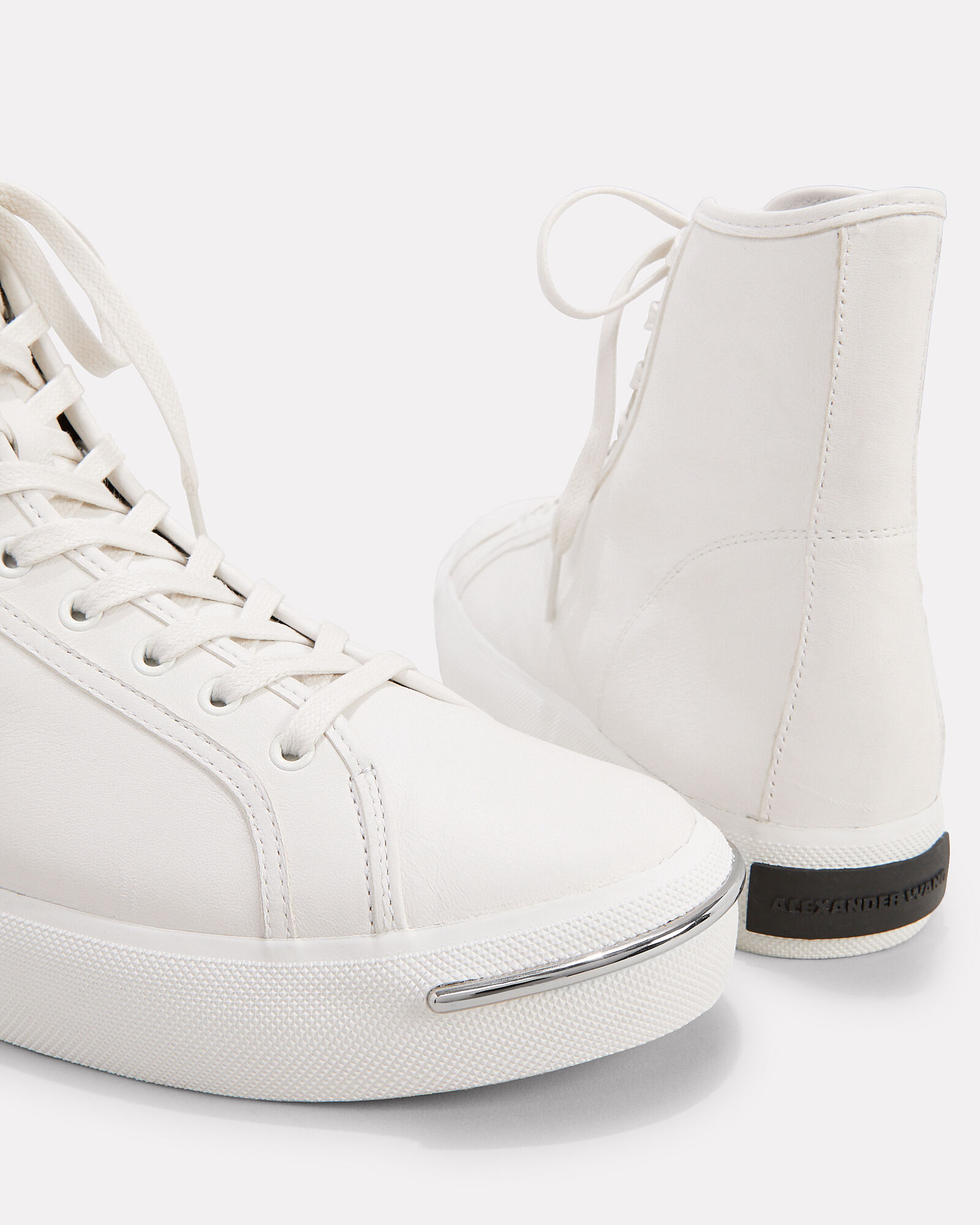 Nola High-Top Sneakers, WHITE, hi-res