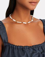 Rock And Sea Pearl Necklace, IVORY, hi-res