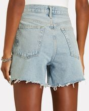Riley Cut-Off Denim Shorts, GROOVE, hi-res