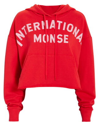 International Monse Hoodie, RED, hi-res