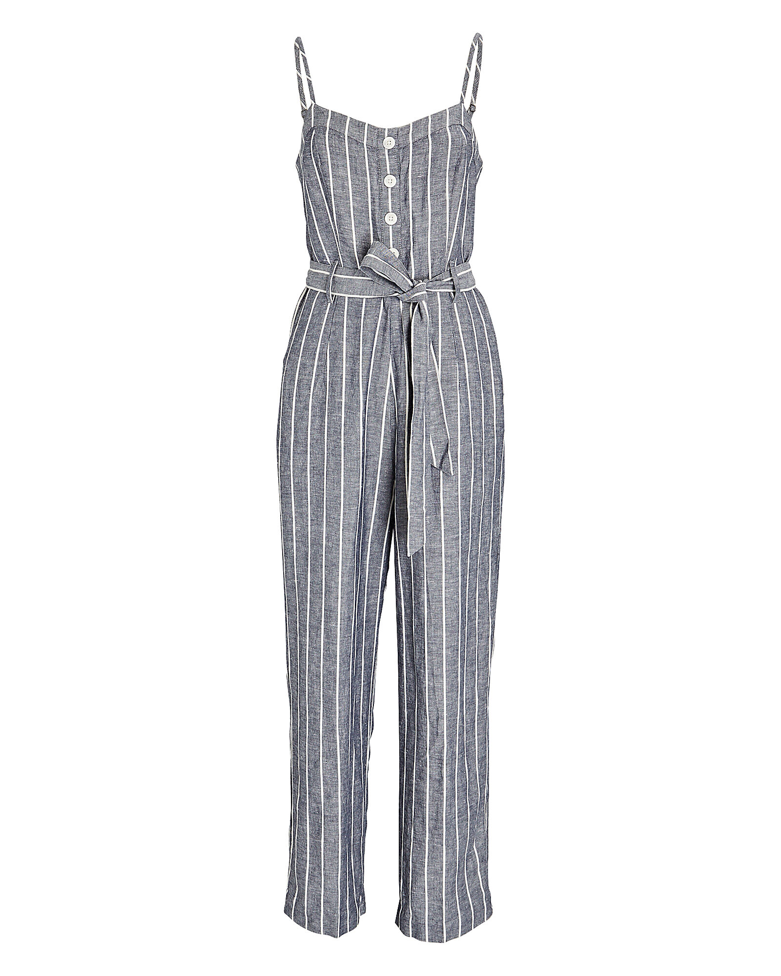 Harper Striped Sleeveless Jumpsuit, MULTI, hi-res