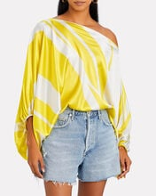 Bellagio Off-The-Shoulder Blouse, YELLOW, hi-res