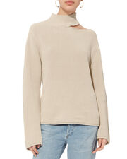 Langley Ivory Sweater, IVORY, hi-res
