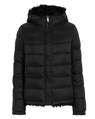 acec36ce52a0 Reversible Shearling Puffer. Yves Salomon Reversible Shearling Puffer
