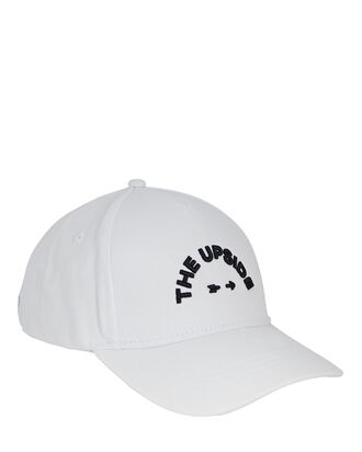 Logo Cotton Baseball Cap, WHITE, hi-res