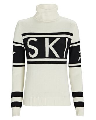 Schild Ski Turtleneck Sweater, WHITE, hi-res