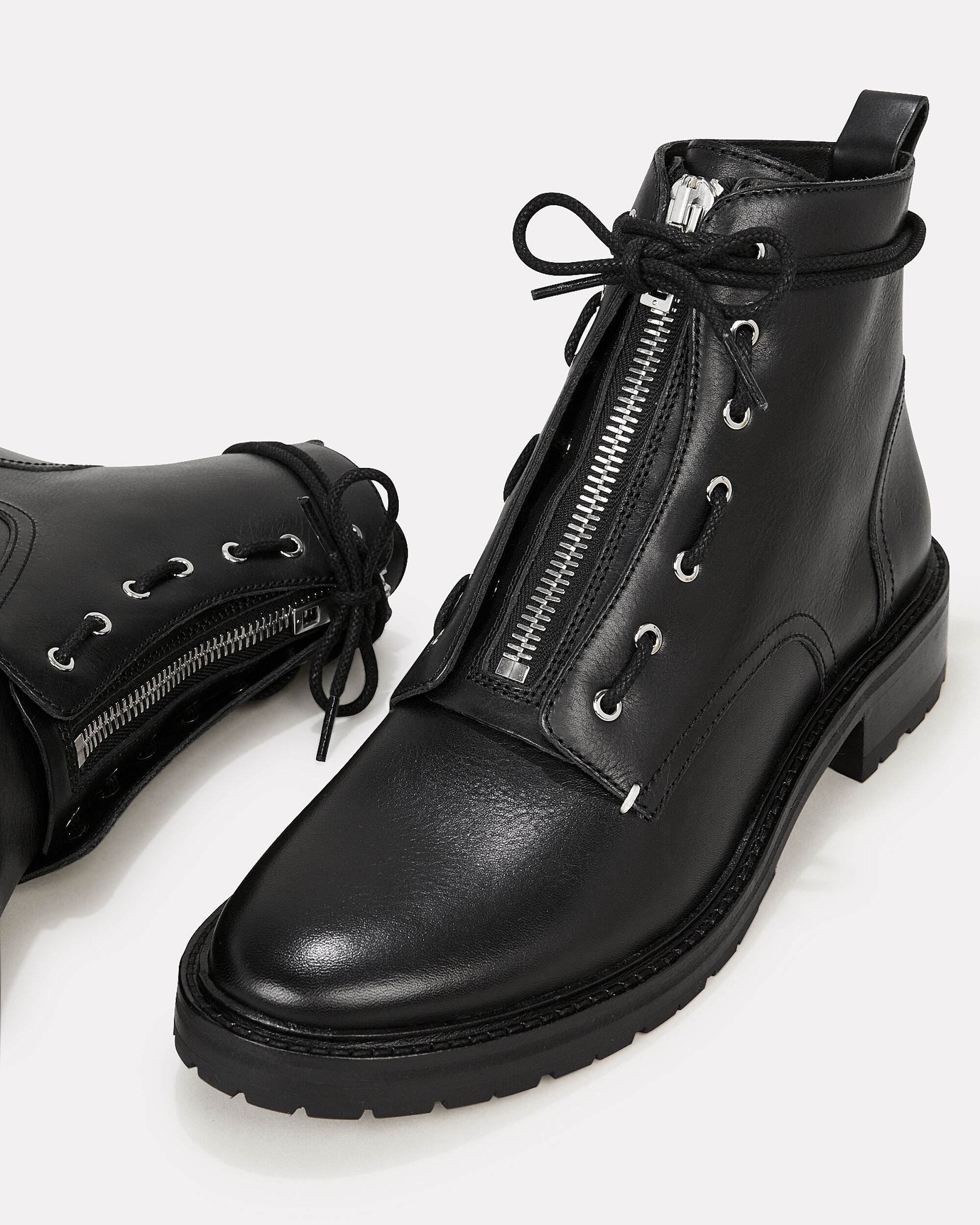 Cannon Black Boots, BLACK, hi-res