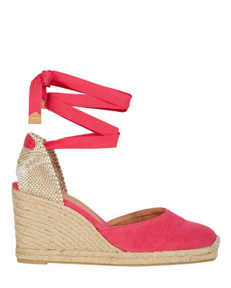 Carina 80 Espadrille Wedges, ROSE, hi-res