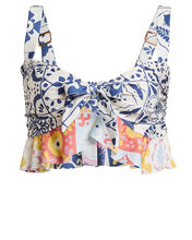 Jenni Ruffled Bikini Top, MULTI, hi-res