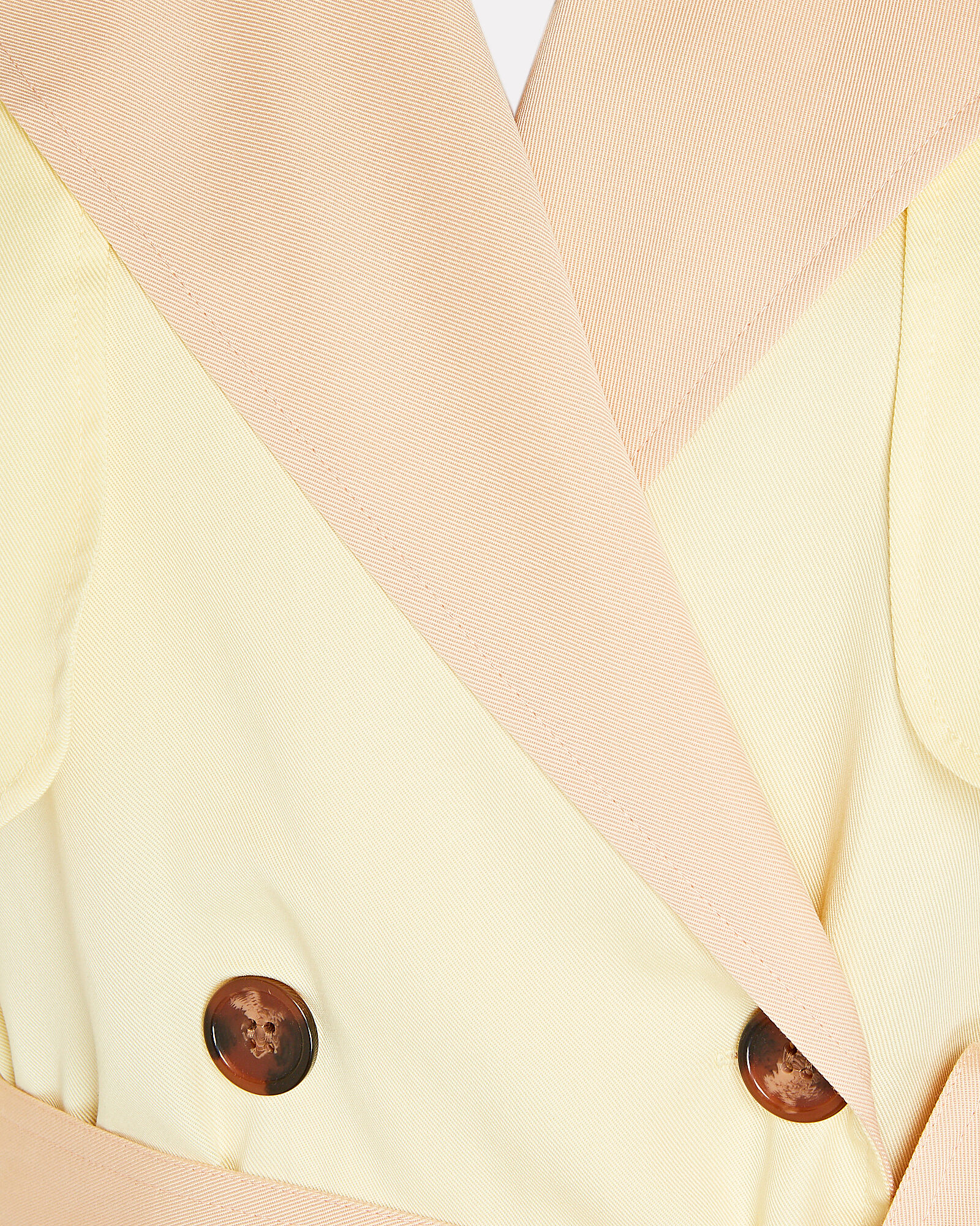 Olympic Trench Coat, YELLOW, hi-res