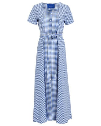 Noma Gingham Dress, MULTI, hi-res
