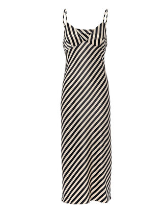 Duke Striped Slip Midi Dress, MULTI, hi-res