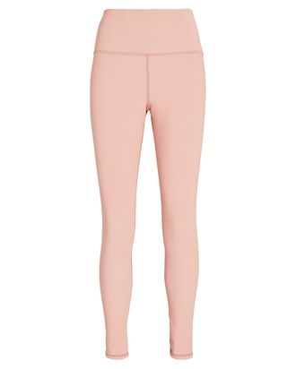 Ayla Rib Knit Leggings, PINK, hi-res